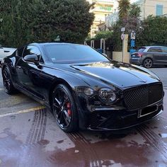 Bentley Auto, Black Bentley, Bentley Continental Gt, Bmw E39, High End Cars, Top Luxury Cars, Lux Cars, Bugatti, Modified Cars