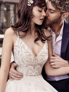 We're never ones to turn down a behind-the-scenes pass, especially if it's for the latest Maggie Sottero Collections. #sponsored #weddingdress
