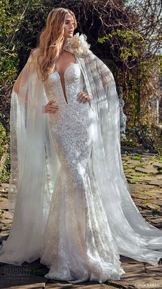 galia lahav bridal spring 2017 sleeveless lace straps split sweetheart beaded sheath wedding dress (samantha) mv sheer jane cape