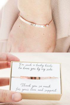 Bridesmaid Bracelet - Rose Gold Bridesmaid Jewelry - Bridesmaid Jewelry Rose