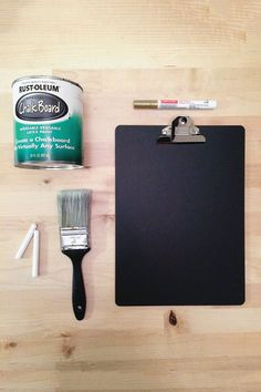 How to Make a DIY Chalkboard? - For all those who don`t have a chalkboard in their home, you should have one, because it is both functional and fun. You can also make a DIY chalkboar. Chalk Crafts, Chalk Paint Projects, Vinyl Crafts, Black Chalkboard, Chalkboard Paint, Chalkboard Drawings, Chalkboard Lettering, Cute Crafts, Crafts To Do