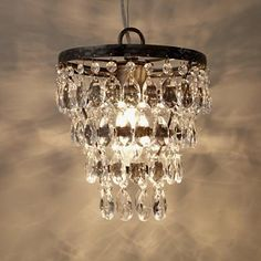 I want this for my closet x 2 - Chandalier Ceiling Light in Ceiling Fixtures - Land of Nod