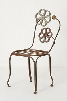 Blacksmith Blossom Chair