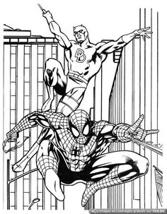 amazing spiderman coloring pages 13 - Coloring Pages Spiderman Printable