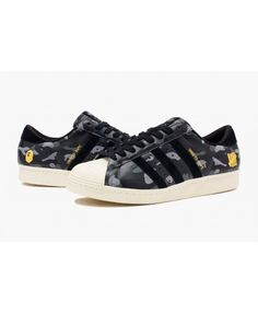 Adidas Originals Superstar 80s Camouflage Pack Shoes