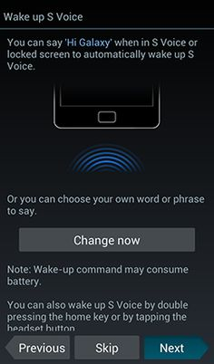 How to use S Voice on Galaxy S III