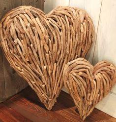 Driftwood Heart...I guess I need to go on a beach vacation soon!