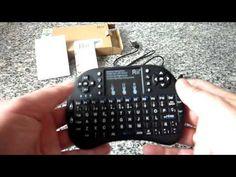 Rii Mini i8+, Mini Teclado Bloutooth con Ratón Touchpad