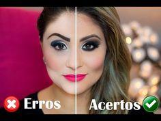 Erros e acertos na maquiagem! Por: Gabih Machado - YouTube