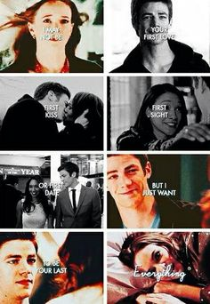 I may not be your first, but I just want to be your last everything. Snowbarry. Barry Allen and Caitlin Snow. The Flash CW. SNOWBARRY love OTP - SHIP.