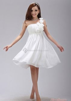 beach themed wedding maid of honor chiffon knee high dress - Google Search