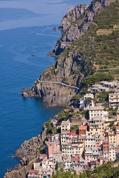 La via dell'amore, Cinque Terre, Italy... Can't believe I walked that.