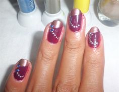 ~maroonsilv by jvoces85 from Nail Art Gallery~