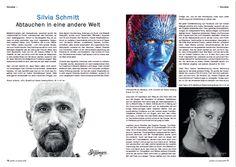 "My first appearance in an art magazine. Thank you, ""Palette & Zeichenstift""!"