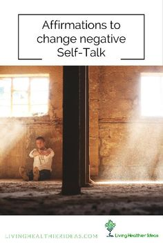 Did you know that out of the 90.000 thoughts we have each day 75.000 are the same ones we had the day before? Learn how to change your negative self-talk.