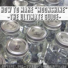 how to make moonshine homemade