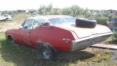 A muscle car and rare (6,356 produced), this 1969 Buick GS California Special coupe is cosmetically rough. Regardless, it is solid and complete enough to be restored.