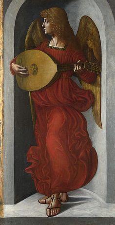 Leonardesco, forse ambrogio de predis, angelo di dx della vergine delle rocce di londra - Vergine delle Rocce (Londra) - Wikipedia