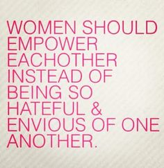 Let's make a promise to each other ladies