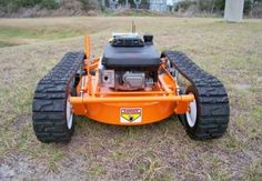 For Him....remote control lawn mower