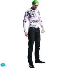Disfraz de Joker Escuadrón Suicida para hombre