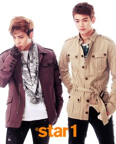 Jonghyun & Minho @ Star1 Magazine April Issue 13