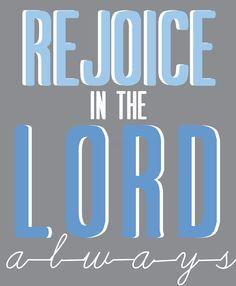 And again I say rejoice. #Faith #Christianity