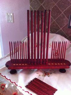RAKE LOOM / Weaving Loom Removable WEAVING STICKS / 2 different sizes PEG LOOM