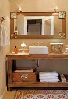 Muebles ba o decoraci n accesorios mamparas y azulejos for Confeccionamos muebles de bano en palet