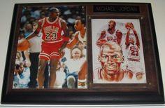 Michael Jordan Chicago Bulls NBA Basketball 6x8 Plaque UNC NBA HOF MVP NBA Champ #ChicagoBulls