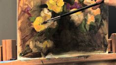 Follow along with this http://ArtistsNetwork.tv video, How to Paint Flowers in Oil, as artist Stephanie Birdsall shows you how to paint flowers in oil, Alla ...