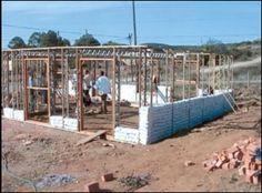 Earthbag Building: Eco-Beam System