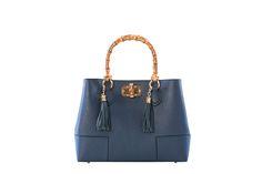 Vendita The Fashion Corner / 22661 / Borse / Pelle granulata / Borsa in Pelle - Blu