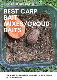Best carp bait mixes/groundbaits #carpfishing #bigcarp Best Carp Bait, Carp Fishing Rigs, Jelly Crystals, Number Two, Over The Years, Food Processor Recipes, Carp Fishing Tackle