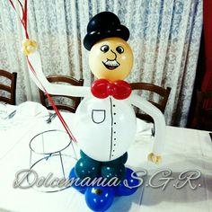 #dolcemania #palloncini #puglia #gargano #sangiovannirotondo #foggia #balloon #balloons #balloonart #oldman #vecchietto #anziano #uomo #man #hat #cappello #pensione #festa #party #centrotavola