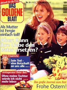 DAS GOLDENE BLATT Nr. 15 v 1995, Fergie