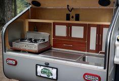 Oregon Trailer construit à la demande des caravanes miniatures tout terrain pour les amoureux du camping sauvage : TerraDrop.