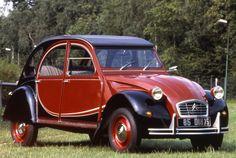 La 2cv6 Charleston : 1980 (jusqu'à 1990 pour la version de série)
