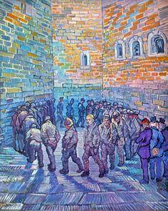 Van Gogh Museum, Amsterdam, Netherlands (Prisoners    walking the Round)