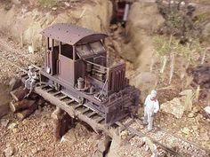 Railroad Line Forums - Pic's of our modified/bashed On30 locos #modeltrains