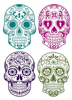 whitehousecrafts day of the dead free printables