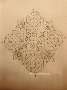 Rangoli Colours, Rangoli Patterns, Rangoli Kolam Designs, Rangoli Ideas, Kolam Rangoli, Lotus Rangoli, Indian Rangoli, Flower Rangoli, Rangoli With Dots