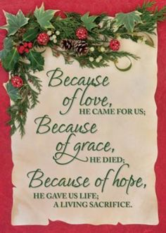 Because of Love Box of 12 Christmas Cards (KJV) - Christianbook.com Christmas Card Verses, Christian Christmas Cards, Christmas Scripture, Christmas Card Messages, Christmas Prayer, Religious Christmas Cards, Boxed Christmas Cards, Christmas Blessings, Christmas Quotes