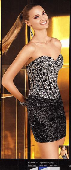 Homecoming DresseesEvening Dresses by Alyce Paris4343Timeless Design!