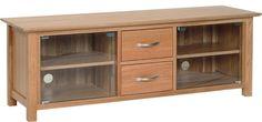 Bryer OakLarge Video Cabinet