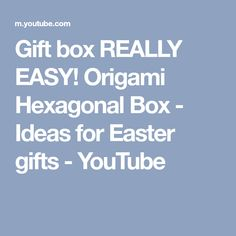 Long box lid gift box origami how to make a paper box youtube long box lid gift box origami how to make a paper box youtube origami pinterest box lids paper boxes and origami negle Image collections