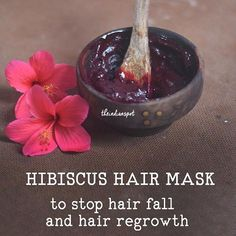Hibiscus is popularly known as 'gudhal' and this is the most beneficial ingredient for hair. Hibiscus helps for hair growth, hair loss and hair regrowth. You have to face these problems at least once Hair Mask For Damaged Hair, Hair Mask For Growth, Diy Hair Mask, Hair Tips Overnight, Overnight Face Mask, Reduce Hair Fall, Flaxseed Gel, Hair Care Recipes, Hair Regrowth