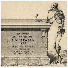 Halloween invitations - online and paper - Paperless Post