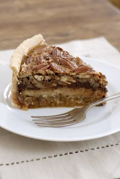 GF deep dish chocolate bourbon pecan pie from kumquat