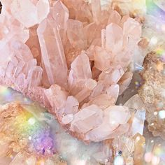 In honor of Crystal of the Week, tomorrow's flash sale est) will feature ALL quartz pieces including this beautiful Pink Himalayan… Crystal Aesthetic, Pink Aesthetic, Crystal Magic, Crystal Healing, Raw Rose Quartz, Minerals And Gemstones, Crystal Jewelry, Gold Jewellery, Stones And Crystals